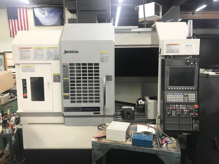 Okuma Genos M560-V CNC Vertical Machining Center