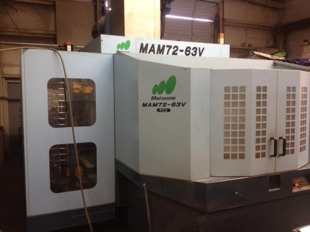 Matsuura MAM72-63V CNC Horizontal Machining Center