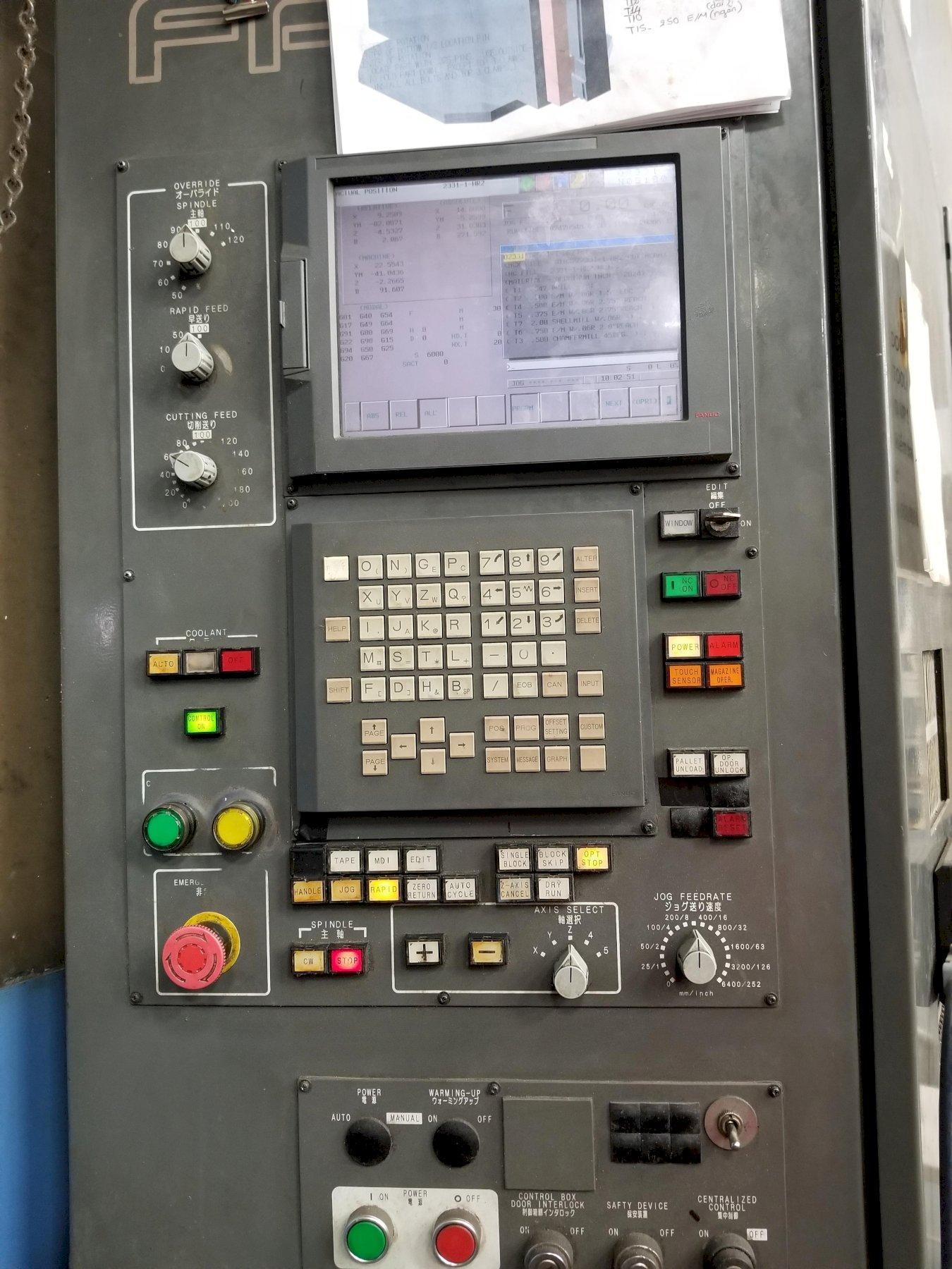1998 TOYODA FA800 - Horizontal Machining Center