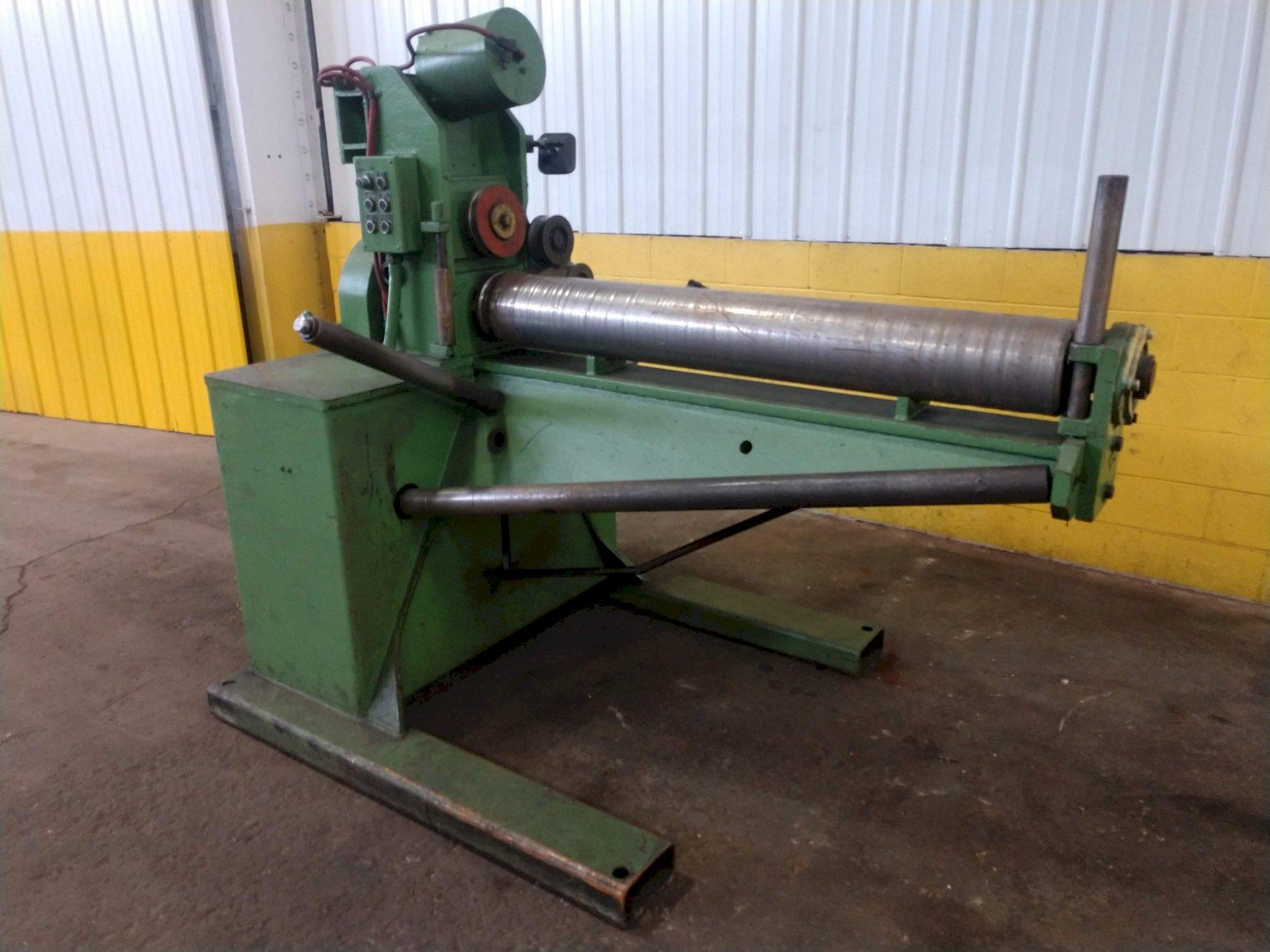 """4,000 LBS X 1.25"""" FASTENER ENGINEERS MODEL #PF-4000-08 POWERED WIRE UNCOILER: STOCK #14955"""