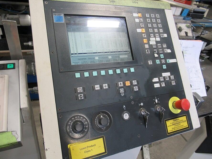2004 Trumpf Trumatic 6000L 3200 Watt TLF3200 Resonator, Siemens Sinumerik 840D CNC Control, Trumalift Sheetmaster.