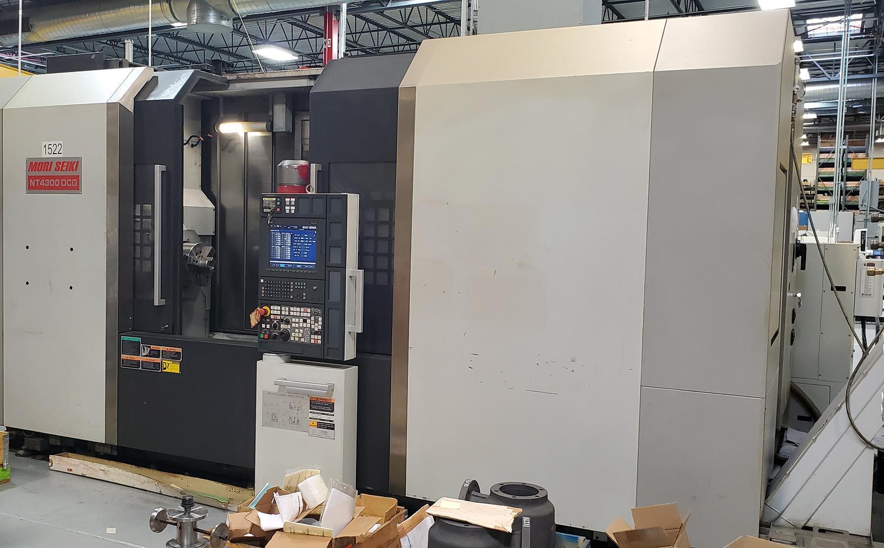 USED, MORI SEIKI NT4300 DCG / 1500 CNC TURNING / MILLING CENTER