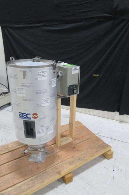 AEC Used ACD-10 Compressed Hot Air Dryer, Approx 50 lb hopper, 115V, Yr. 2014
