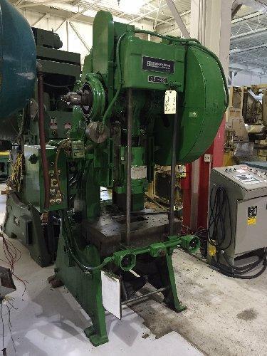 45 Ton SB Johnson, 45-FW-AC,  C-Frame Press
