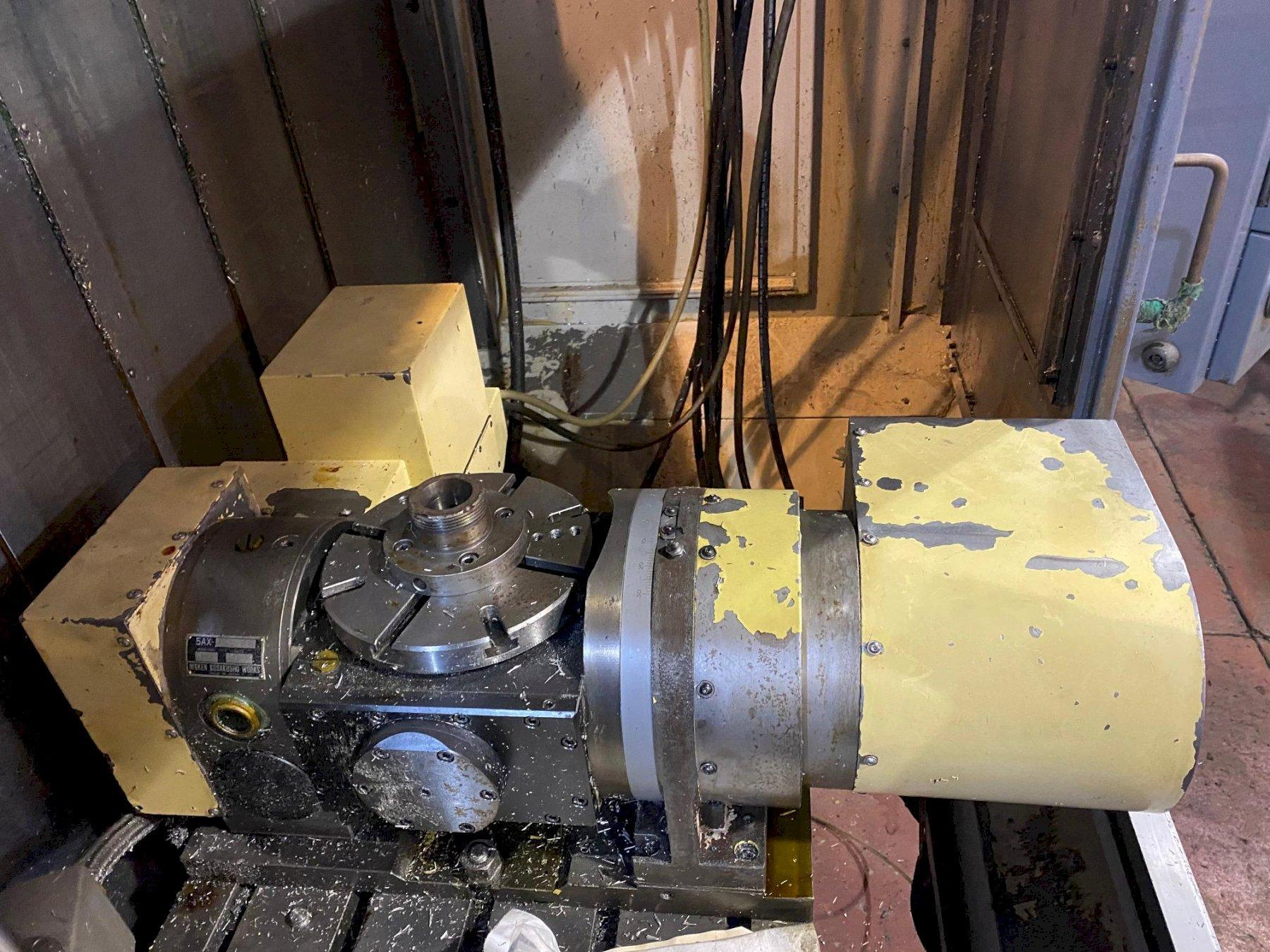 Mazak VTC-200B - CNC Vertical Machining Center w/Nikken 5 Axis Trunion