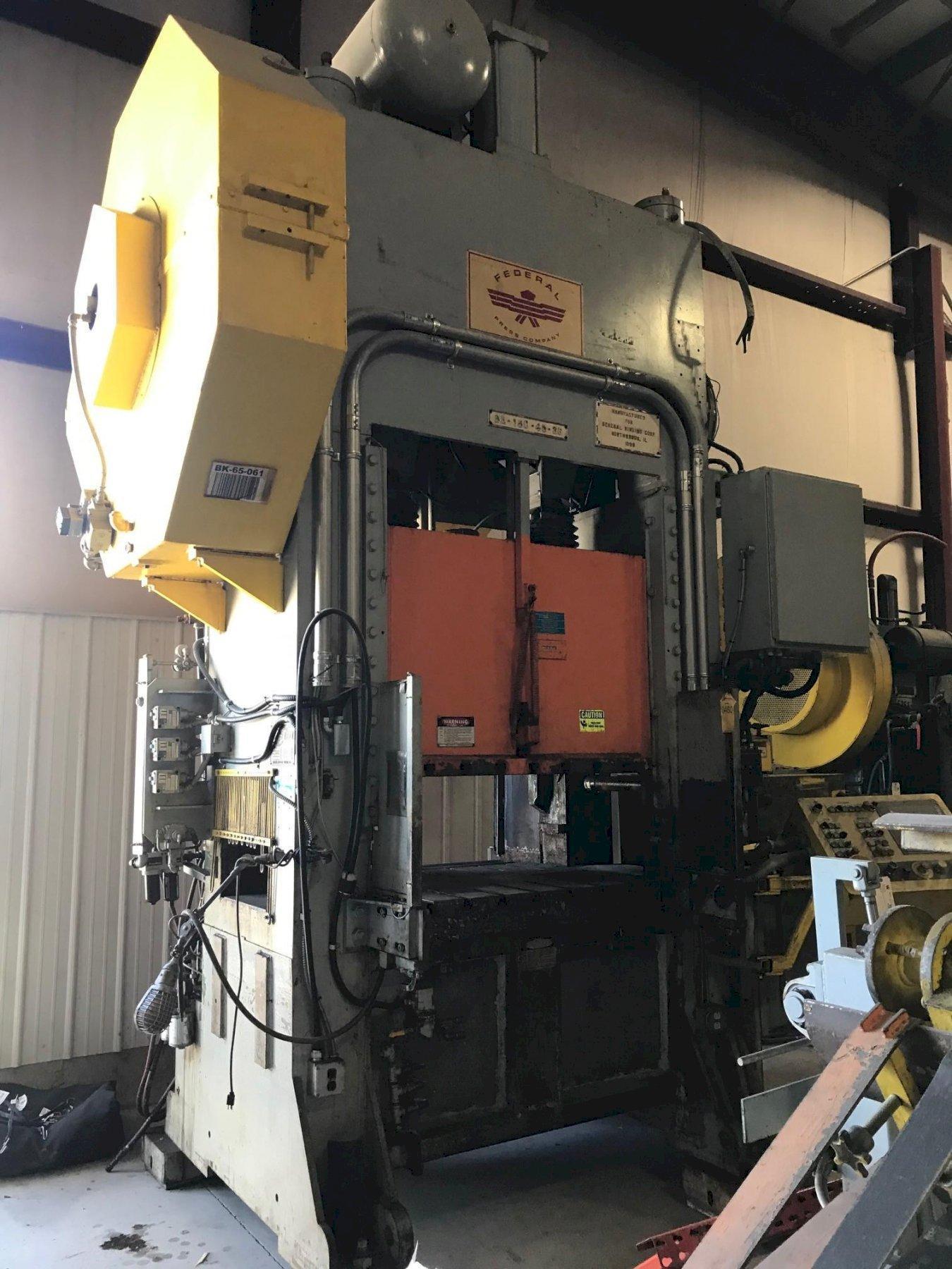 150 TON FEDERAL SSDC PRESS: STOCK #73349