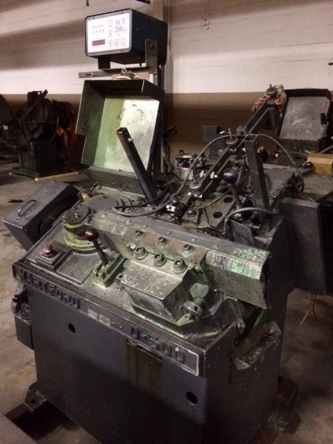 "3/16""  Hartford 0-500 High Speed Automated Flat Die Thread Roller"