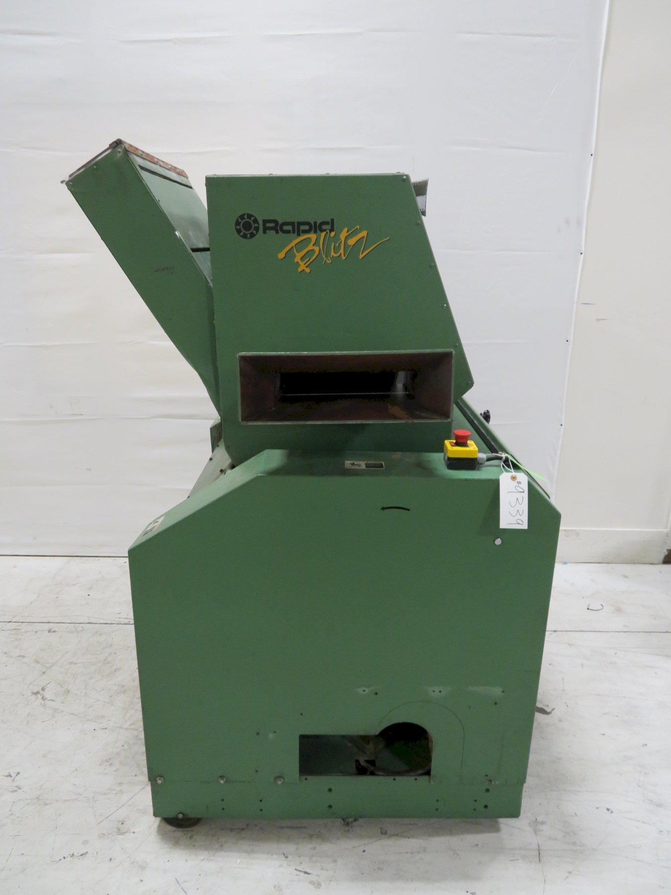"Rapid Used B-24 Granulator, 24""x4"", 30hp, 480V, Yr. 2001"