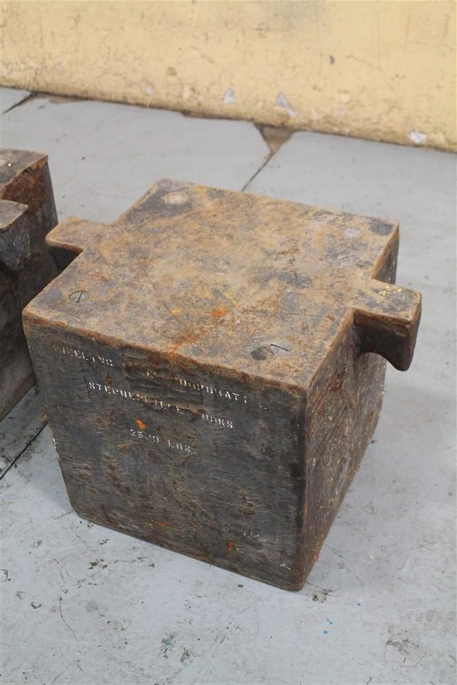 2500 LBS COUNTERWEIGHT: STOCK #59929