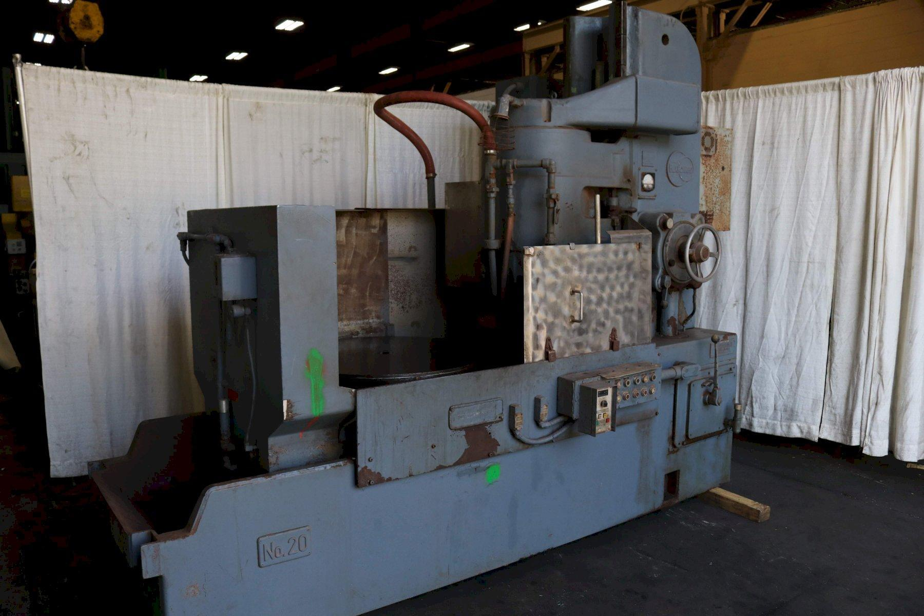36' BLANCHARD MODEL #20 ROTARY SURFACE GRINDER: STOCK #72046
