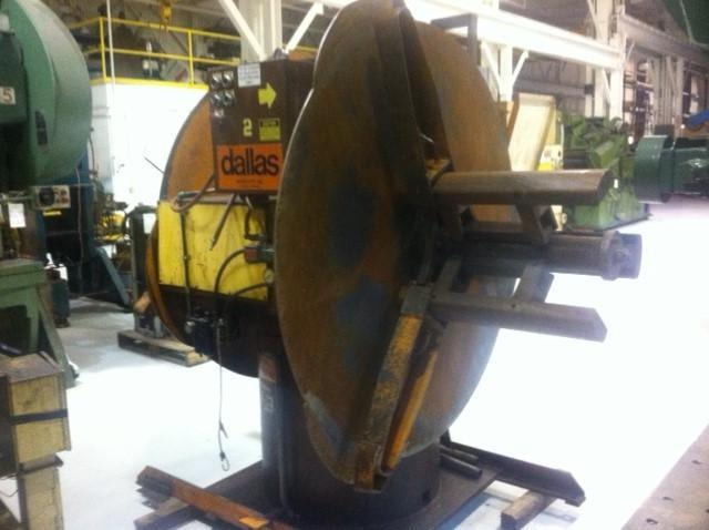 4000 Lbs. Dallas Industries, Double End Coil Reel
