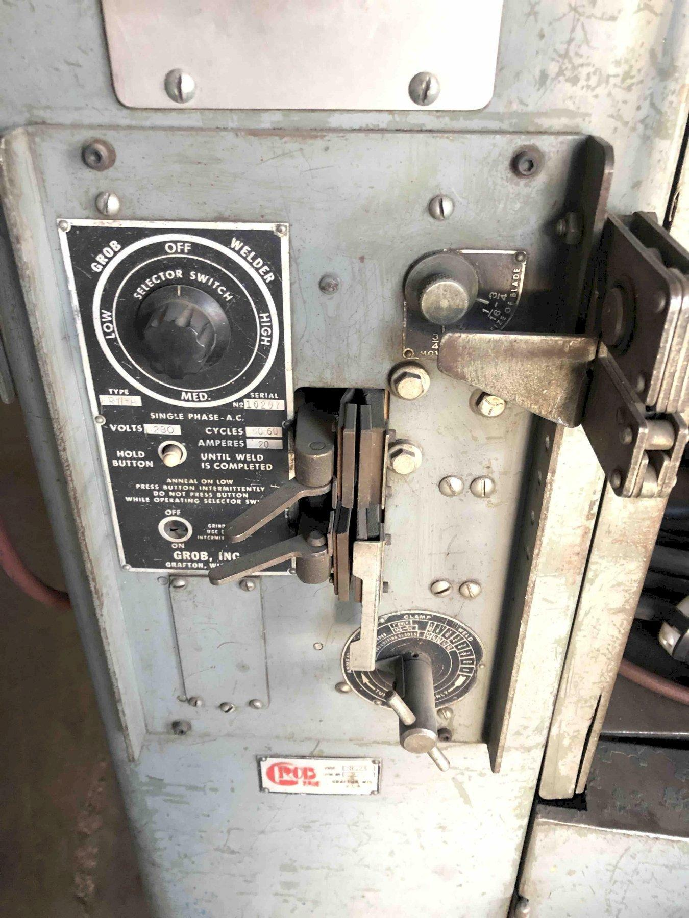 1 - PREOWNED GROB BANDSAW, MODEL #: 524, S/N: 3278