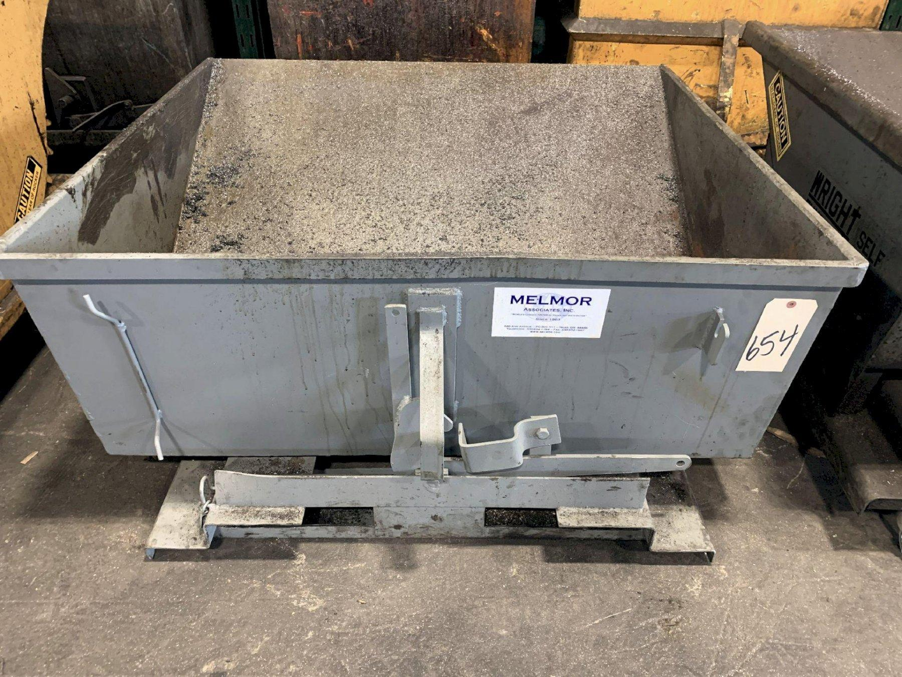 3 CUBIC YARD DUMP HOPPER. STOCK # 0951520