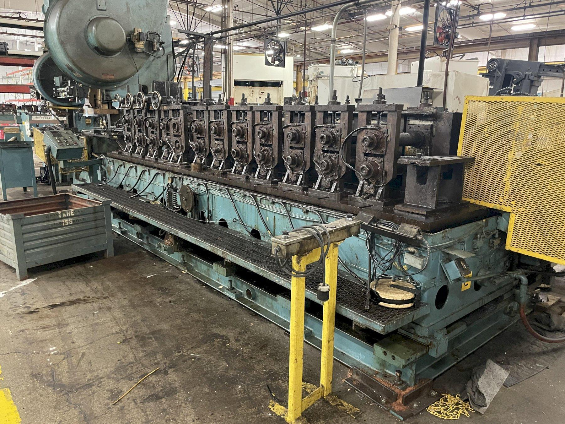 """12 STAND X 3"""" MAPLEWOOD ROLLFORMER: STOCK #15351"""
