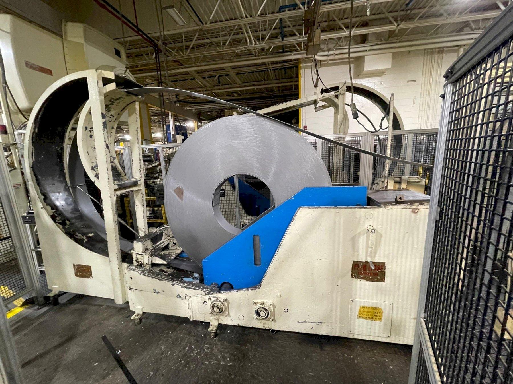8000 lbs Feed Lease Reverse Loop Coil Cradle