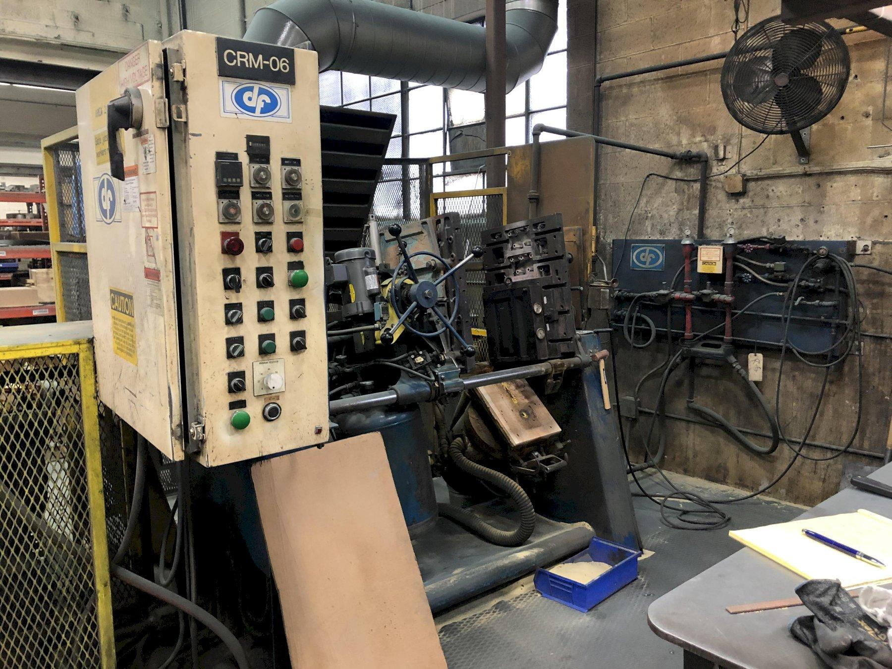 DEPENDABLE MODEL 400FA SHELL CORE MACHINE S/N 153 WITH ALLEN BRADLEY SLC150 PLC CONTROL AND GAS PANEL AND SAND FEED (EXCELLENT CONDITION)