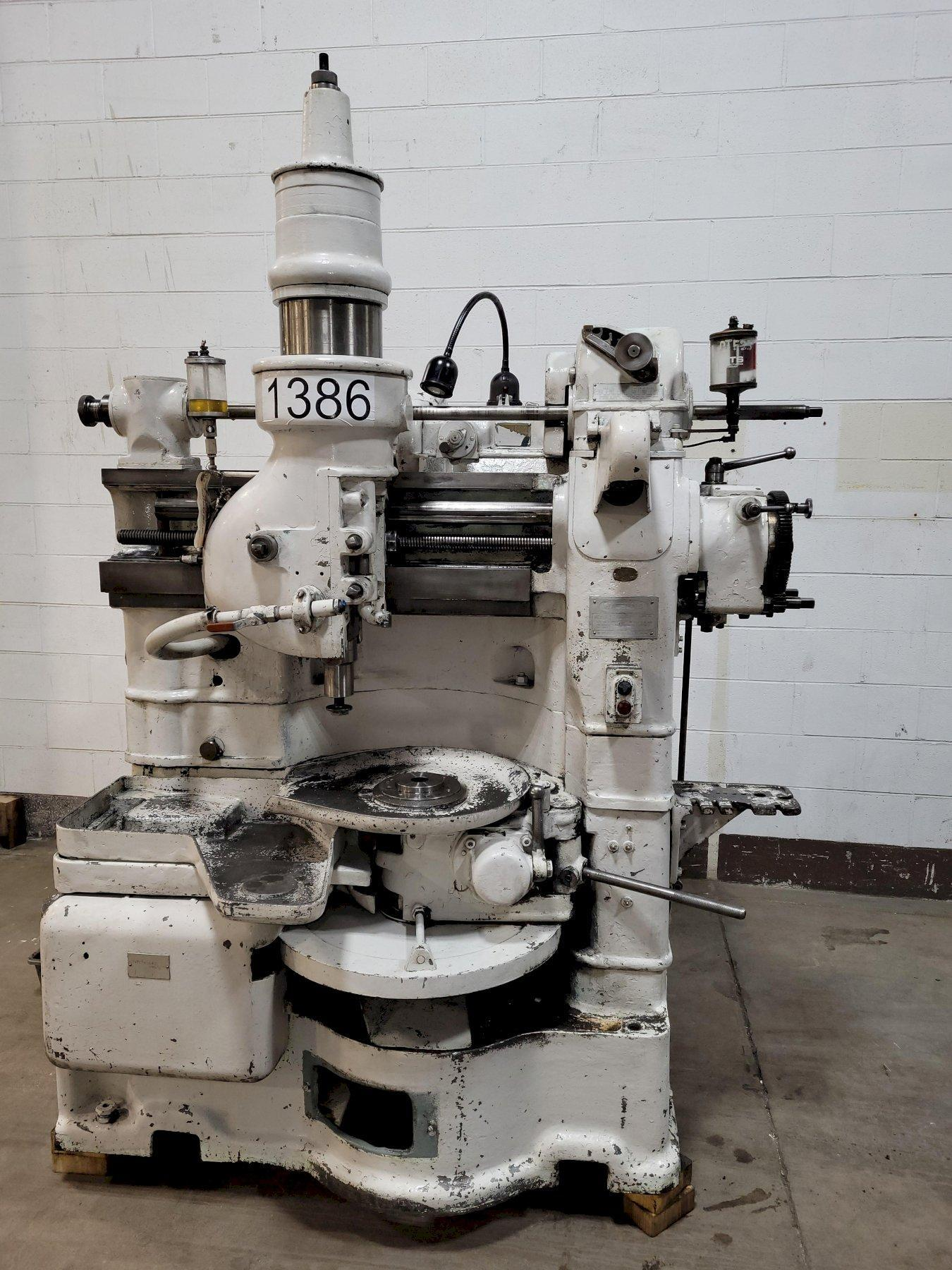 Fellows Type 6A Model 615A Gear Shaper