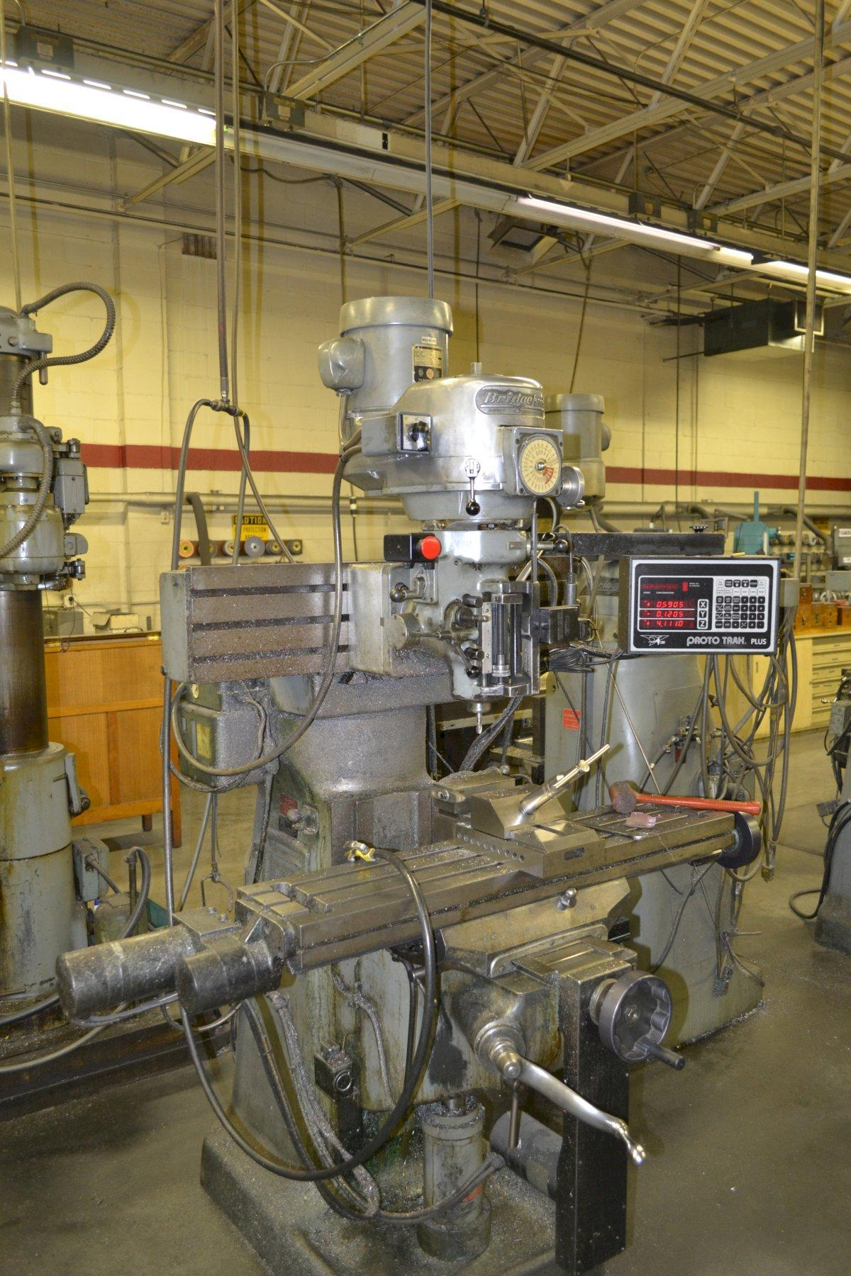 Bridgeport Series 1 Vertical Mill