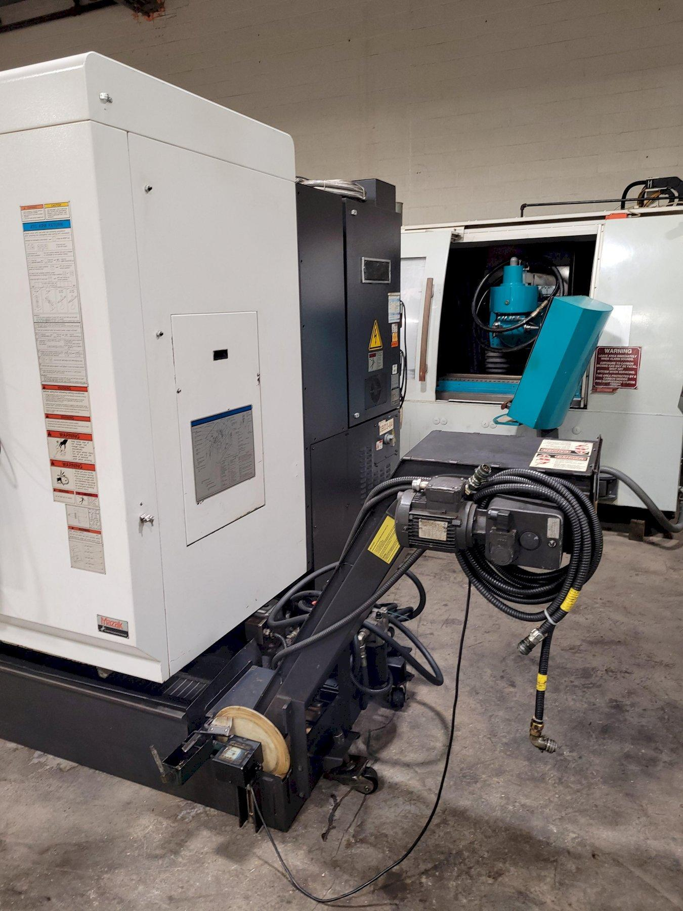 Mazak VTC-200C CNC Traveling Column Vertical Machining Center with 4th/5th Axis
