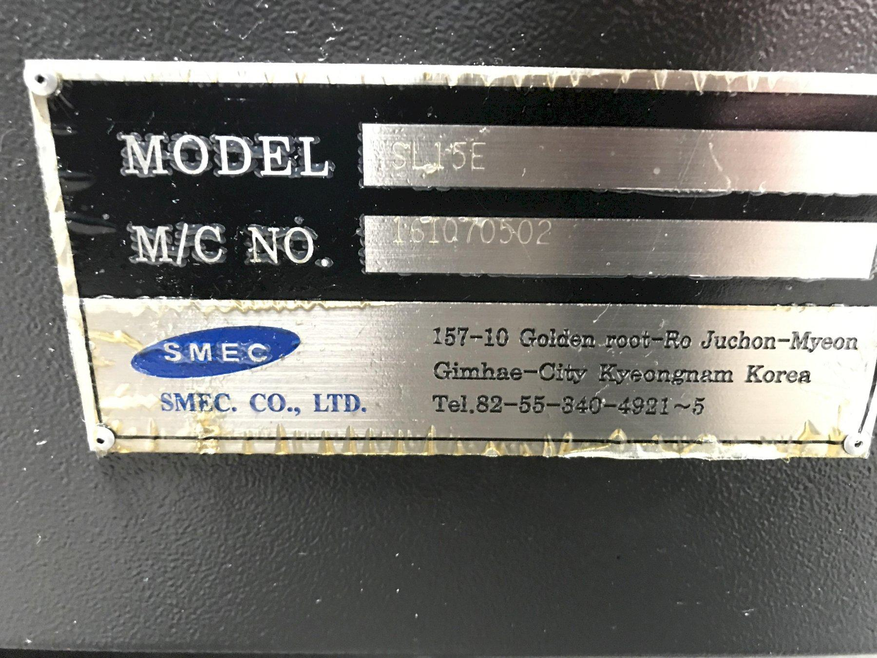 Samsung SL-15E Horizontal Lathe