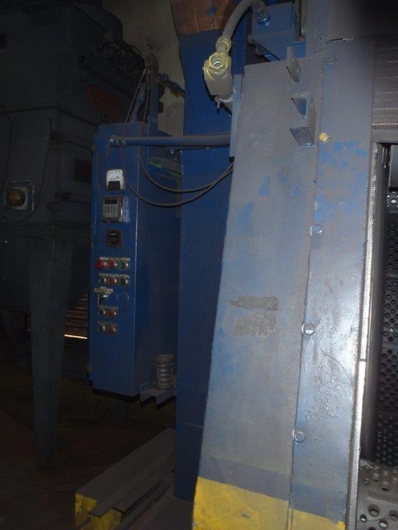 12 CU FT PANGBORN ROTOBLAST TUMBLE TYPE SHOT BLAST MACHINE. STOCK # 0743321