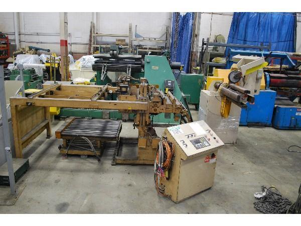 ROWE 7,500 lb x 40 Complete Cut To Length Coil Line