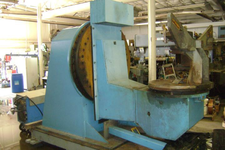 (1) PREOWNED WELDING STATION WITH CLOOS WELD POSITIONER AND CLOOS ROBOT