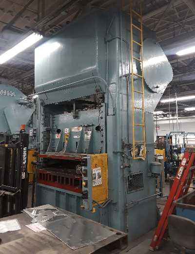 250 TON VERSON MODEL #S2-84-54 SSDC PRESS: STOCK #10590