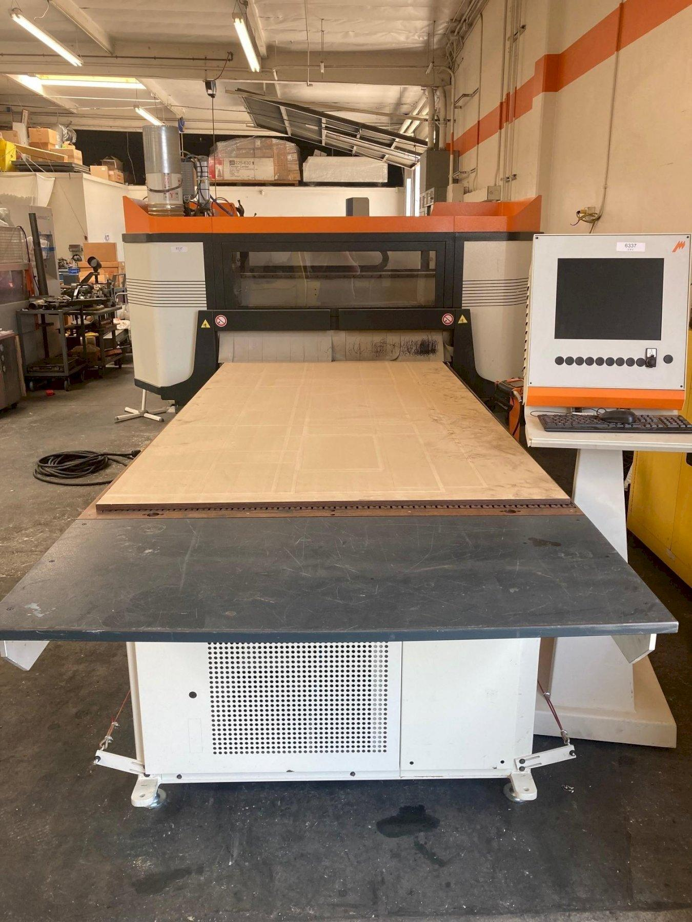 Busellato Easy Jet 4.8 B 4' x 8' CNC Router 2016 With: 7-Position Drill Bank, 8-Position Tool Rack, and Multifunctional Phenolic Top.