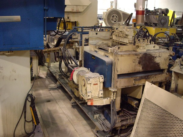 "International Controls Servo Feed-Straightener 42""  Wide x .187"""