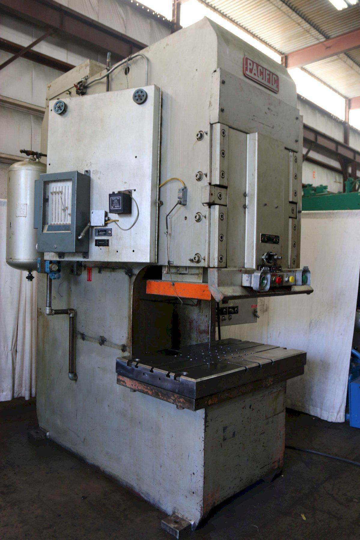 150 Ton Pacific C-Frame Hydraulic Press Model 150PF-OBS