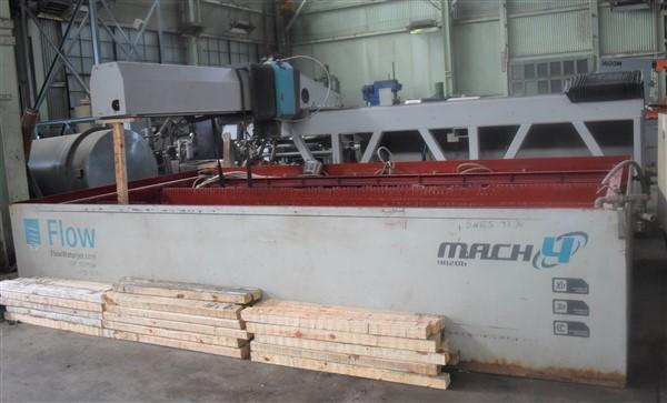 "9' X 15"" FLOW INTERNATIONAL ""MACH 4"" 4020B 5 AXIS CNC WATERJET CUTTING MACHINE"