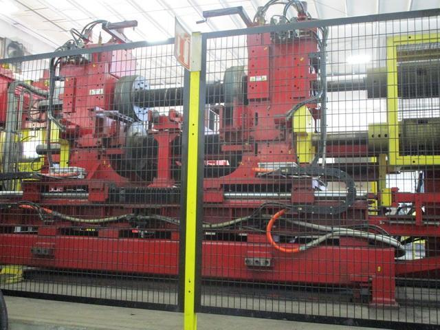 "72"" x 1/2"" Red Bud Edge Trimmer / Scrap Choppers / Scrap Conveyor Year 2011"