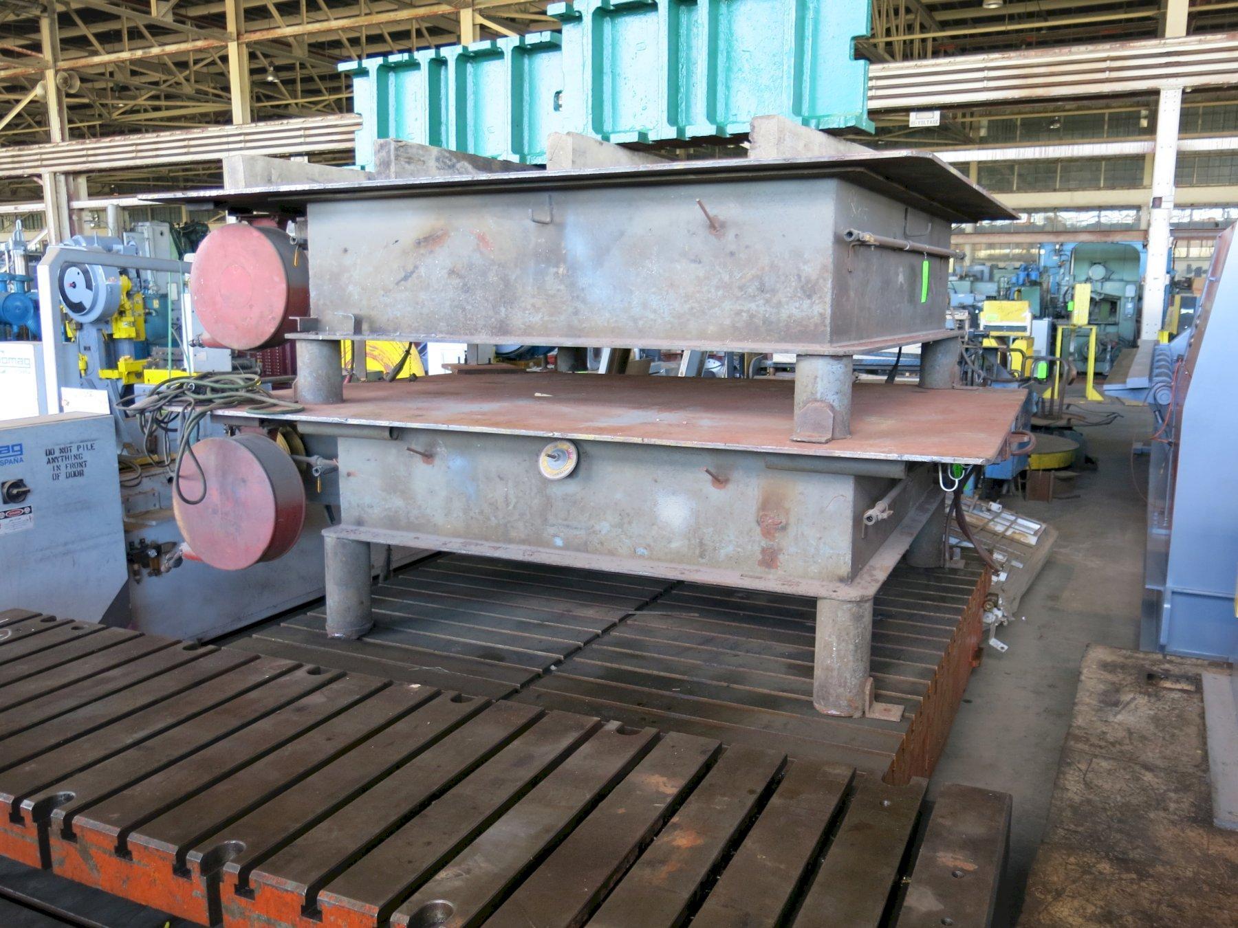 8' x 10' Steel Weld Table