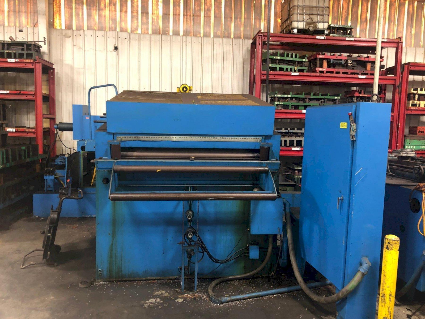 """15000 Lbs. x 60"""" Dallas Coil Reel and Straightener"""