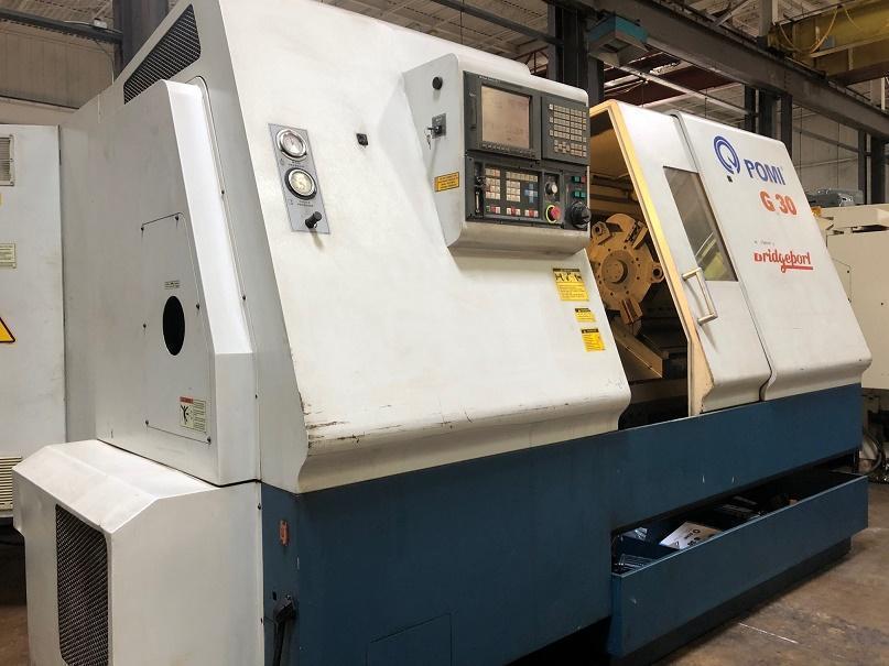 Bridgeport Romi G-30 2-Axis CNC Lathe