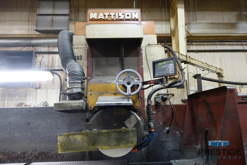 "Mattison 24"" x 96"" Horizontal Surface Grinder"