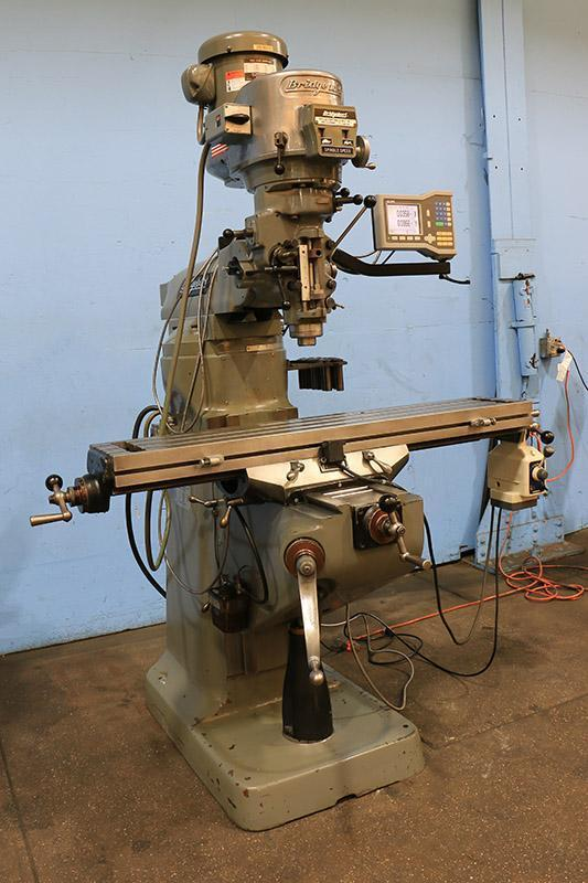 BRIDGEPORT SERIES I VERTICAL MILL