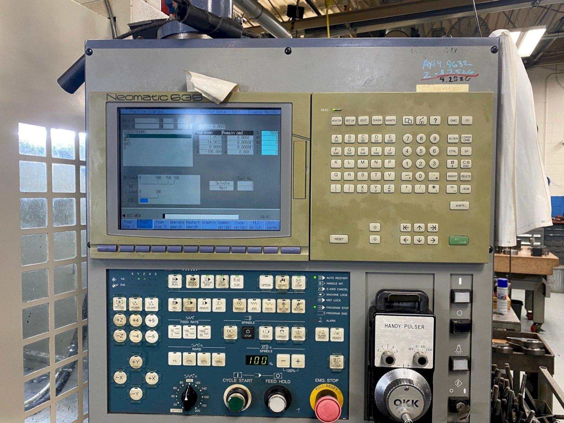 OKK VM-7 Vertical Machining Center