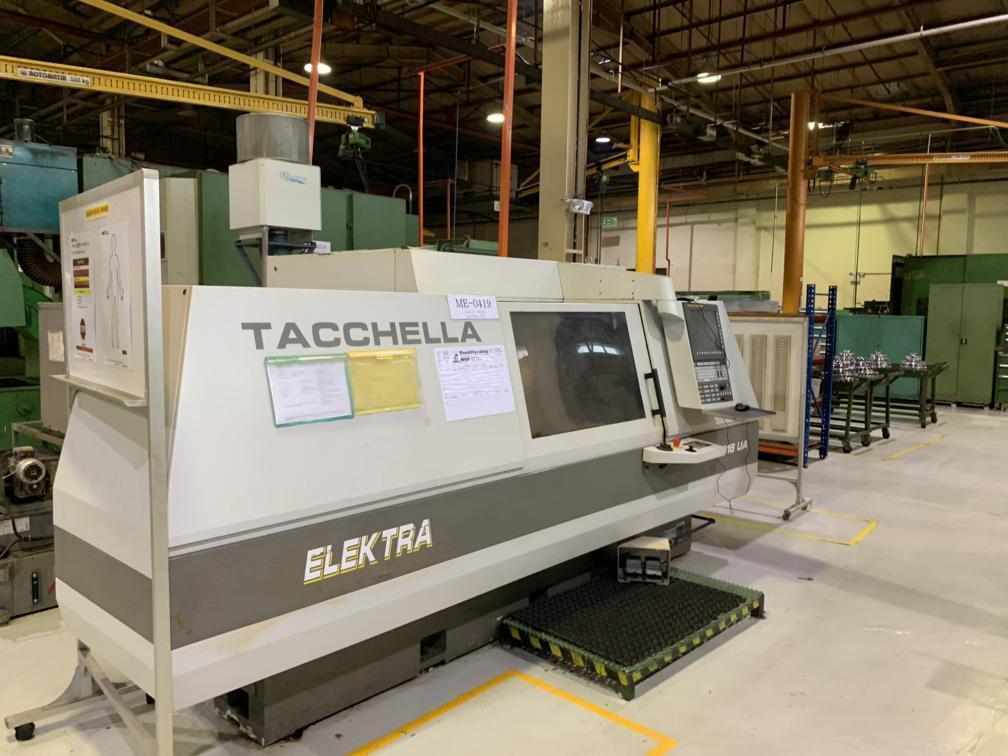 Tacchella Elektra 1018 UA CNC Cylindrical Grinder