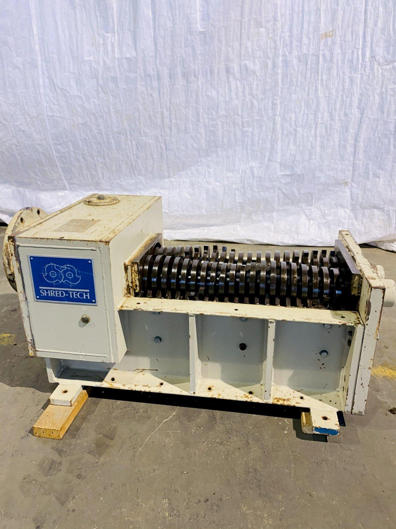 15 HP SHRED-TECH SHREDDING HEAD. STOCK # 1162320