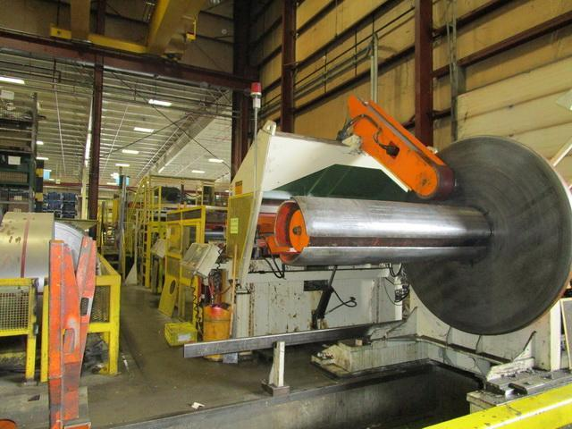 SESCO Cut-To-Length Line 60,000 Lbs. x 72