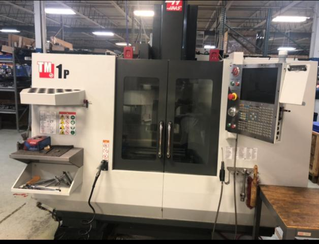 Haas TM-1P Vertical Machining Center (2017) Toolroom Mill