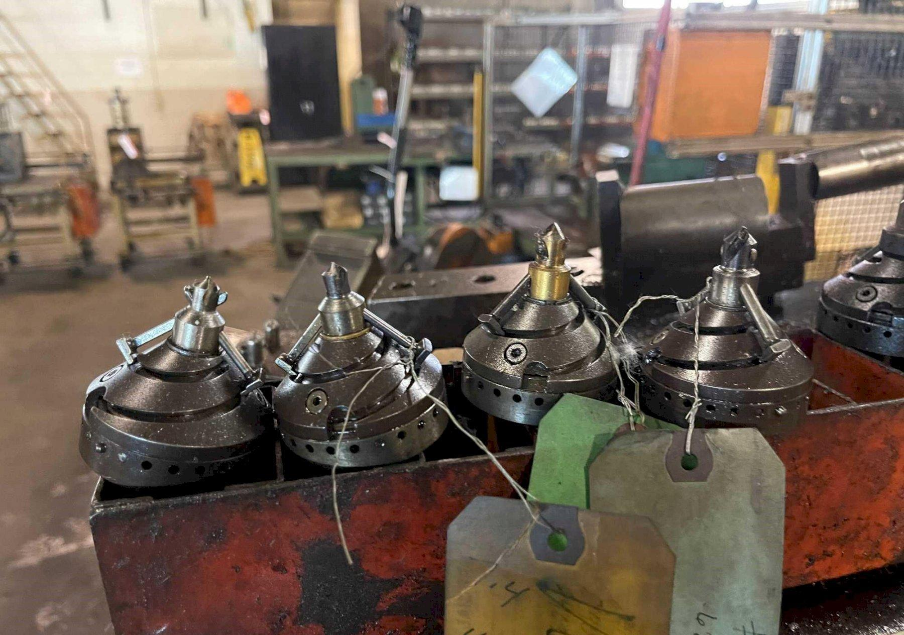 T-DRILL COLLARING DRILL HEADS & TUBE HOLDERS: STOCK #15432