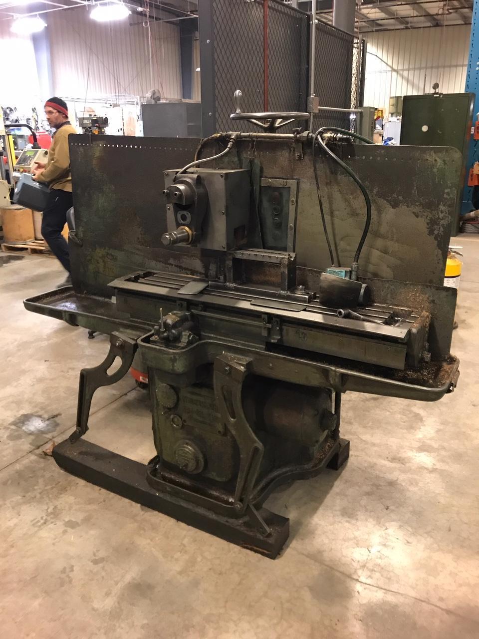 Sundstrand Rigid Mill Model No. 0 Horizontal Milling Machine