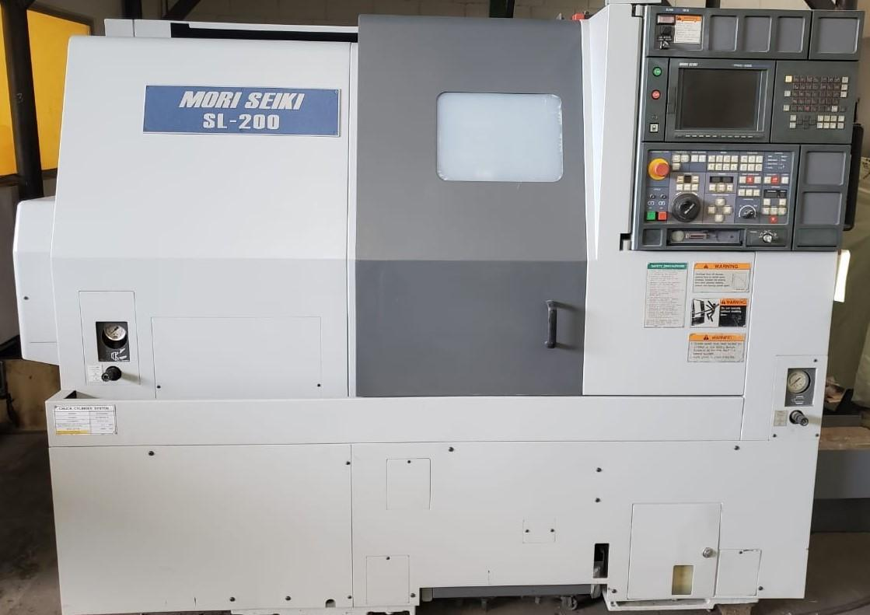 2000 Mori Seiki SL-200-500- CNC Horizontal Lathe