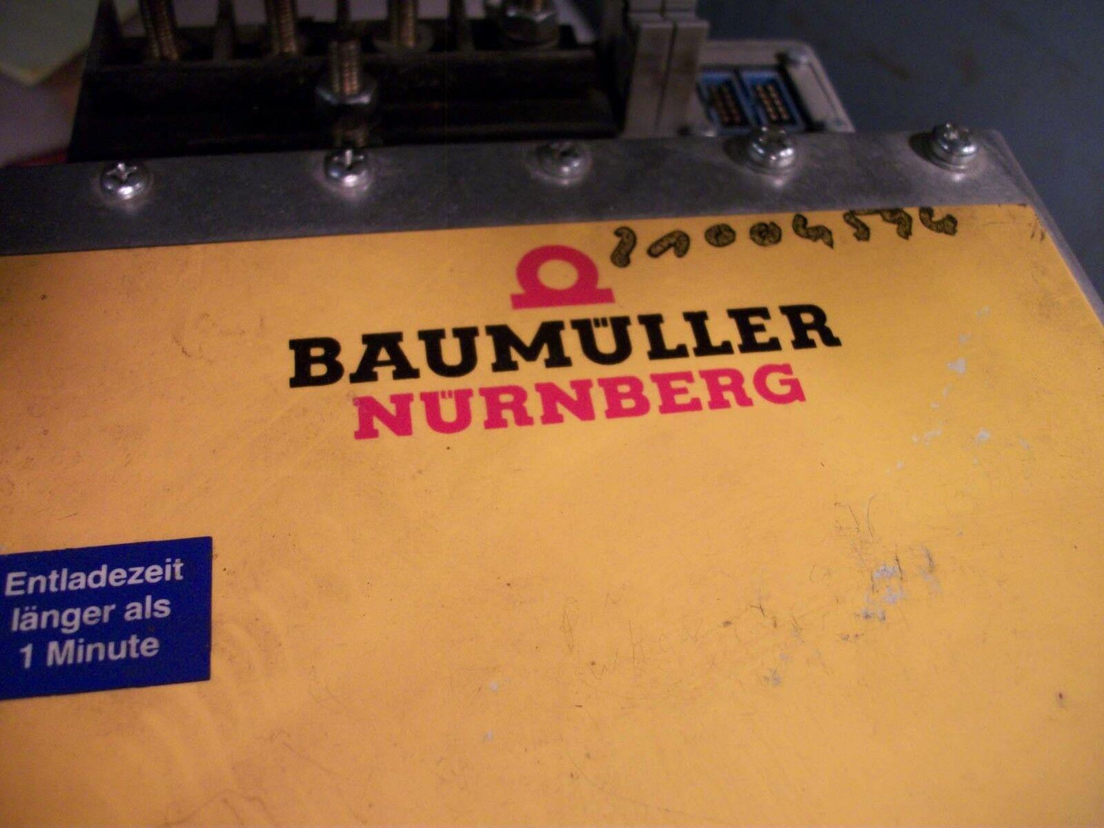 Baumuller Axis Drive # BUKC2-90190-62-001-07, Nr90308876E