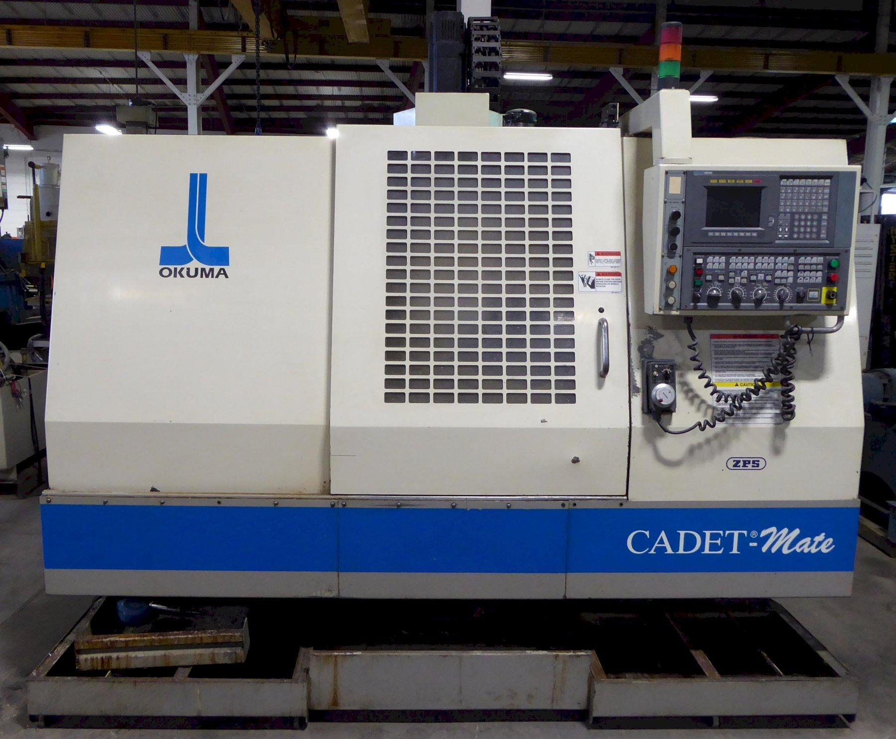 Okuma Cadet Mate Vertical Machining Center, 40″X, 20″Y, 20″Z, 8000 RPM, OSP 700M Control
