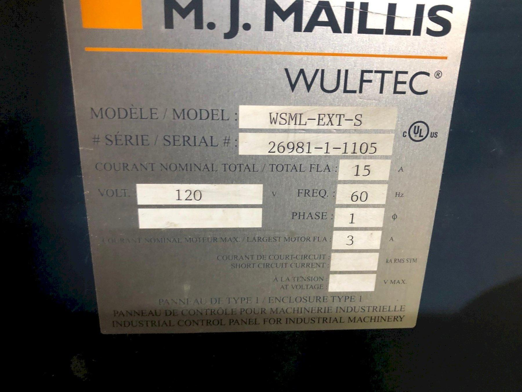 WULFTEC SEMI AUTO STRETCH WRAPPING MACHINE