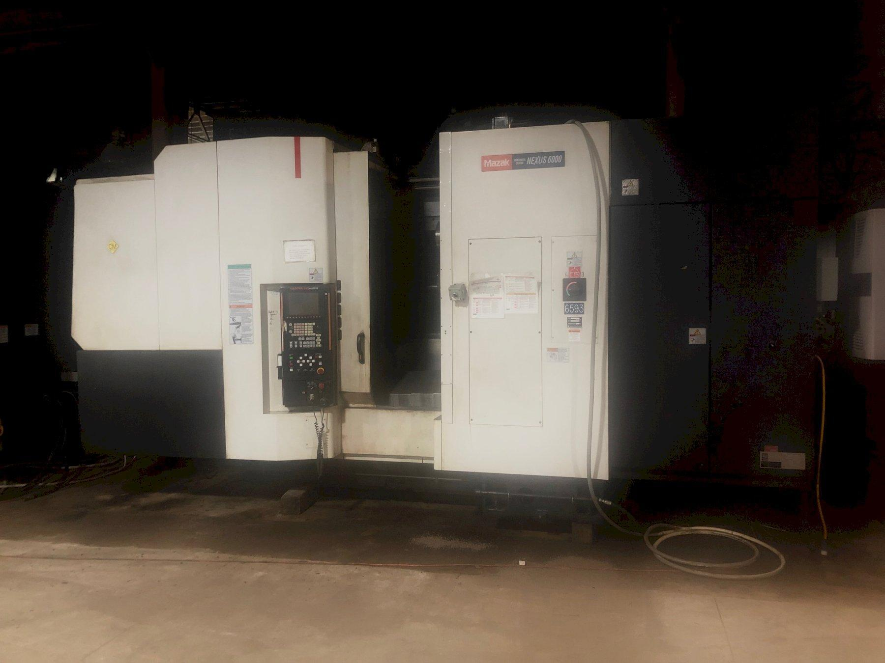 2004 Mazak HCN 6000 II - Horizontal Machining Center